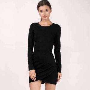 Tobi There She Goes Black Bodycon Dress
